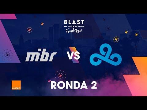 MiBR vs C9 - BLAST Pro Series Los Angeles 2019 - Bo1
