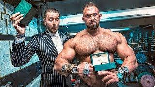 200.000 Euro im Gym! Kevin Wolters neue Rolex Uhr!