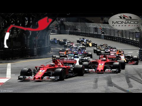 RACING ITALIA : CATEGORIA F1 GARA (MONACO 2018)