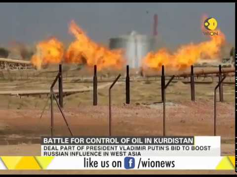 Battle for control of oil in Kurdistan