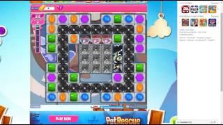 candy crush saga level 1467 no booster 3 stars 336 k pts