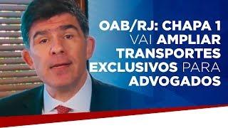 OAB/RJ: Chapa 1 vai ampliar transportes exclusivos para advogados