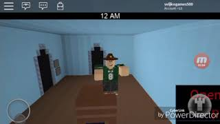 ROBLOX five nights at the Kaba Crab episode. 1 (Serbian gameplay)