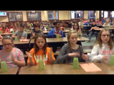 Fraction Cup Song by YIMS Sixth Grade Math