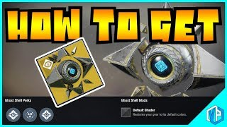 Destiny 2 - HOW TO GET EXOTIC GHOST SHELL? SAGIRA EXOTIC!