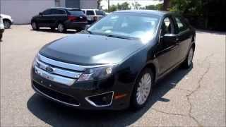 2010 Ford Fusion Hybrid Walkaround, Start up, Tour and Overview