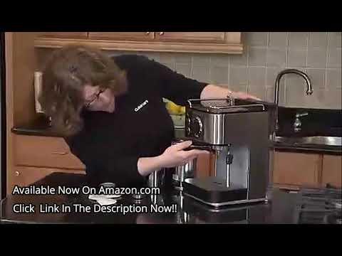 Cuisinart EM-100 Espresso Maker +1 Cuisinart EM-100 1.66 Quart Stainless Steel Espresso Maker Review