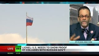 Still no proof RT colludes with Russia - Lionel