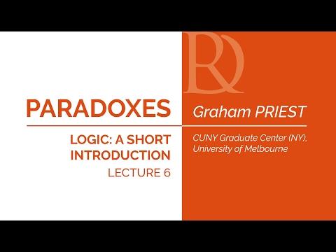 Graham Priest - 6. Paradoxes