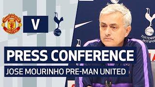 PRESS CONFERENCE | JOSE MOURINHO PRE-MANCHESTER UNITED
