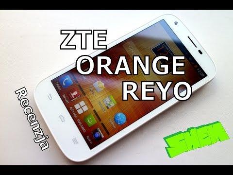 ZTE Orange Reyo/ ZTE Blade Q Maxi- recenzja PL