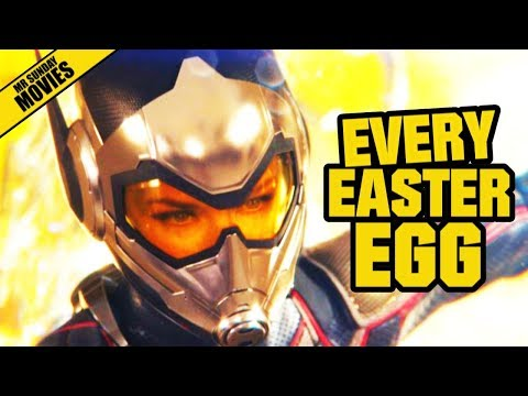 All Easter Eggs In ANT-MAN & THE WASP (post credits & Avengers 4)