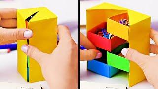 INCREDIBLE PAPER HACKS || Creative Paper Crafts For Everyone