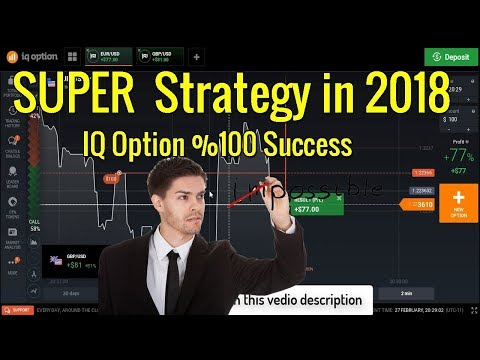 This strategy 100% profitable for real account - Binary option trading  iq option strategy
