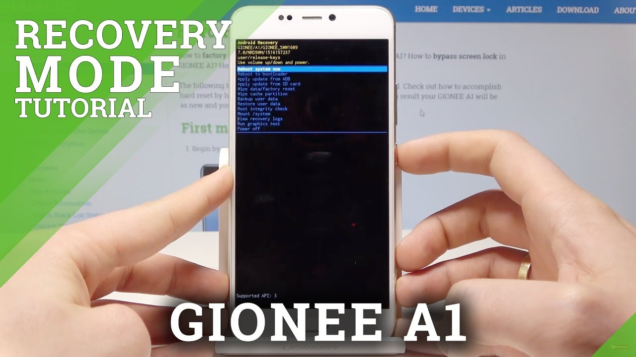 Gionee A1 Recovery Mode Videos - Waoweo
