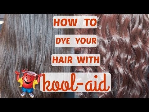 HOW TO DYE YOUR HAIR WITH KOOL-AID | SUMMER FUN | CUSTOM HAIR COLOR