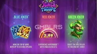 Joker Troupe slot by Push Gaming