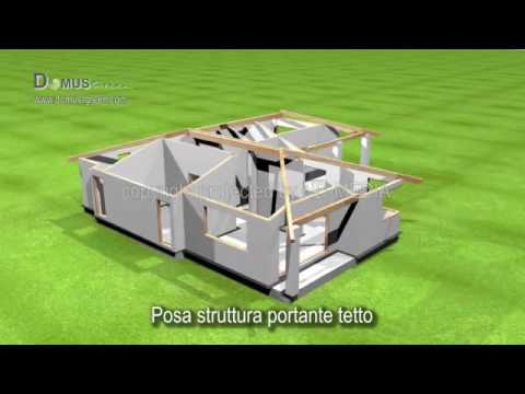 3D video animation/ prefabricated house/ building system