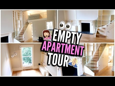 MY EMPTY APARTMENT TOUR (LONDON)