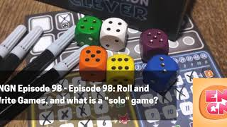 "Episode 98: Roll and Write Games, and what is a ""solo"" game?"