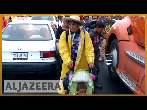 🇲🇽 Migrant caravan: Mexico City bus offer withdrawn | Al Jazeera English