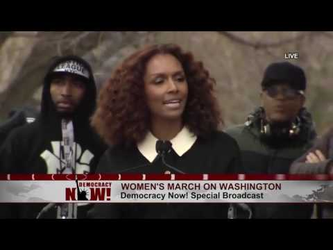 "Trans Author & Activist Janet Mock at Women's March: ""I Am My Sister's Keeper"""
