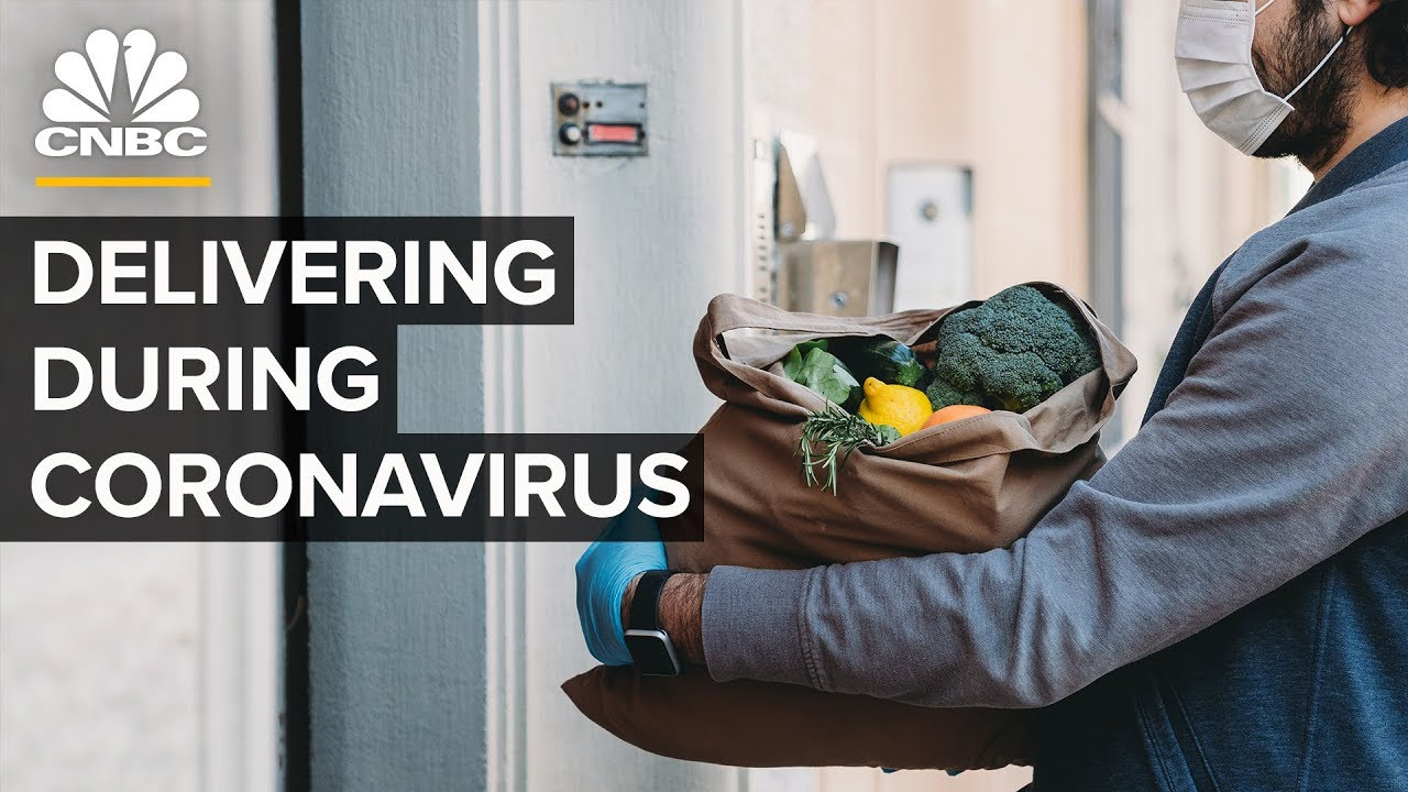 What It's Like To Make Deliveries During The Coronavirus Pandemic