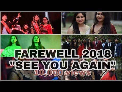 GCET Farewell 2018  | See you again