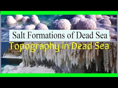 Salt Formations Of Dead Sea  Jordon Israel And Palestine // How To Make Process Of Salt Crystals