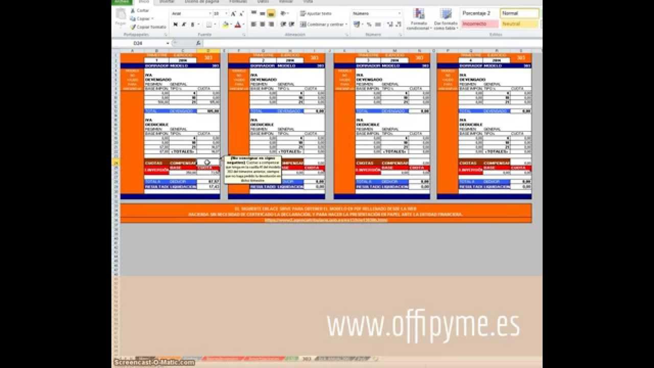 Libro registro de ingresos y gastos con registro de IVA, con ...