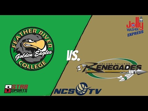 Feather River vs Ohlone College Men's Basketball LIVE 12/13/18