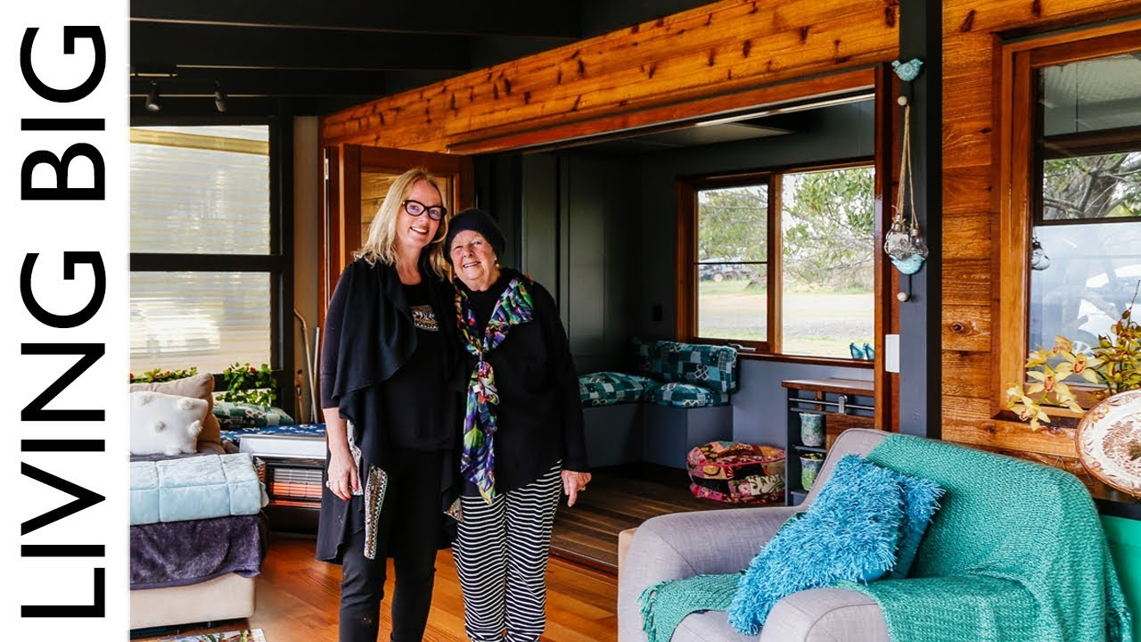 Tiny House Designed To Be Elderly Disability Mobility