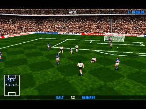 UEFA Euro 96 England (Gremlin) (MS-DOS) [1996]
