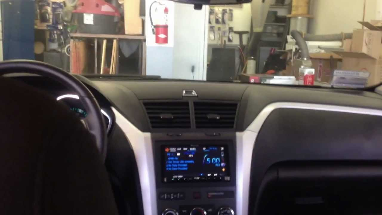 2012 Chevrolet Traverse AVH P4400BH With Backup Camera And