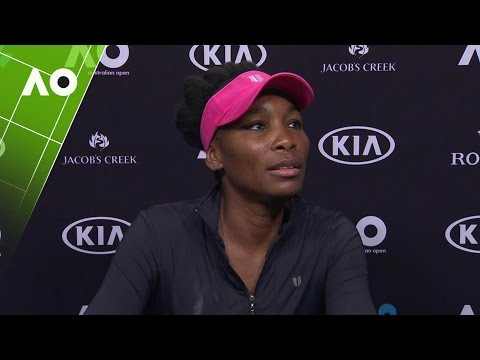 Venus Williams press conference (SF) | Australian Open 2017