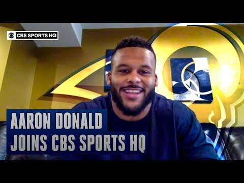 Aaron Donald felt like it was a home game when the Rams played at Heinz Field  CBS Sports HQ
