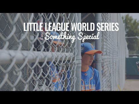 Little League Intermediate 50/70 World Series: Something Special