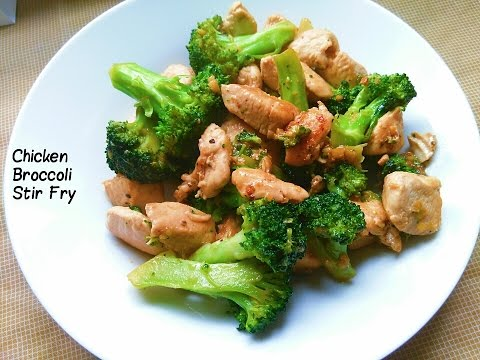 My Recipe | A Delicious Chicken Broccoli Stir Fry