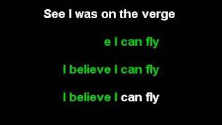 R Kelly   I Believe I Can Fly Karaoke