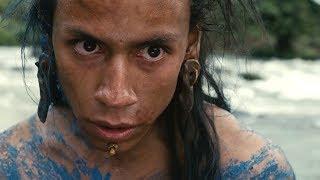 """Лапа ягуара прыгает с водопада  - """"Апокалипсис"""" отрывок из фильма"""