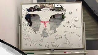 どうなってる!?現実とシンクロするハイクオリティパラパラ漫画