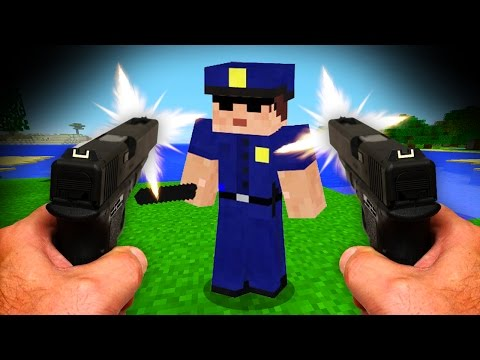Thumbnail: REALISTIC MINECRAFT - STEVE BECOMES A COP! 👮