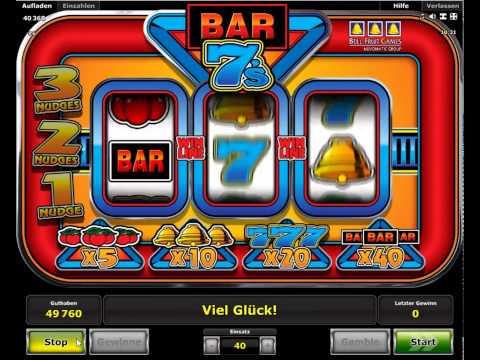 Bar 7s kostenlos spielen | Online-Slot.de