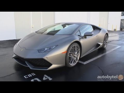 2016 Lamborghini Huracan Lp 610 4 Road Test Video Review