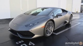 2016 Lamborghini Huracan LP 610-4 Road Test Video Review