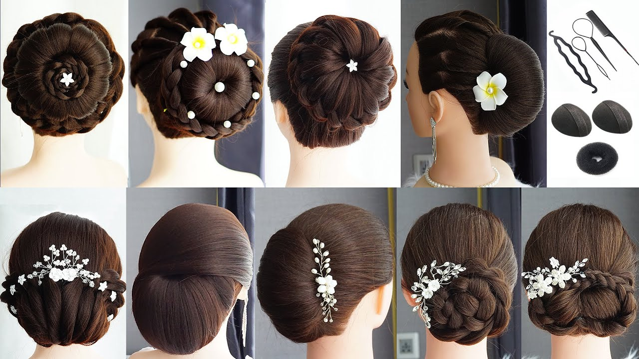 9 Most Beautiful Hairstyles For Wedding Or Party | New Hairstyle | Wedding Guest Hairstyles