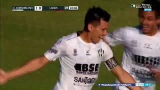 GOLAZO de CENTRAL CÓRDOBA ante Lanús - Copa Argentina