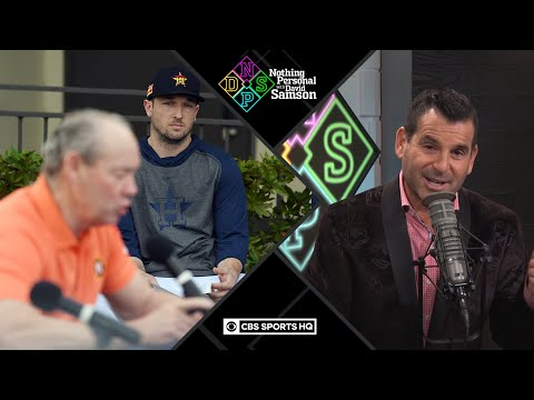 Houston Astros DISASTROUS press conference | Nothing Personal with David Samson