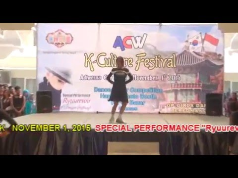 K-Culture Fest opening in ACW Tegal