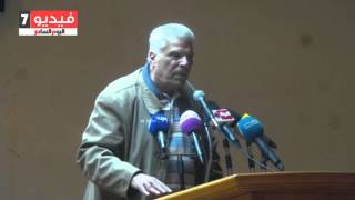 إبراهيم عبد المجيد بندوة التضامن مع أحمد ناجى: ما يحدث فى مصر الآن